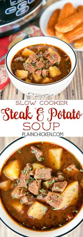 steak and potato soup